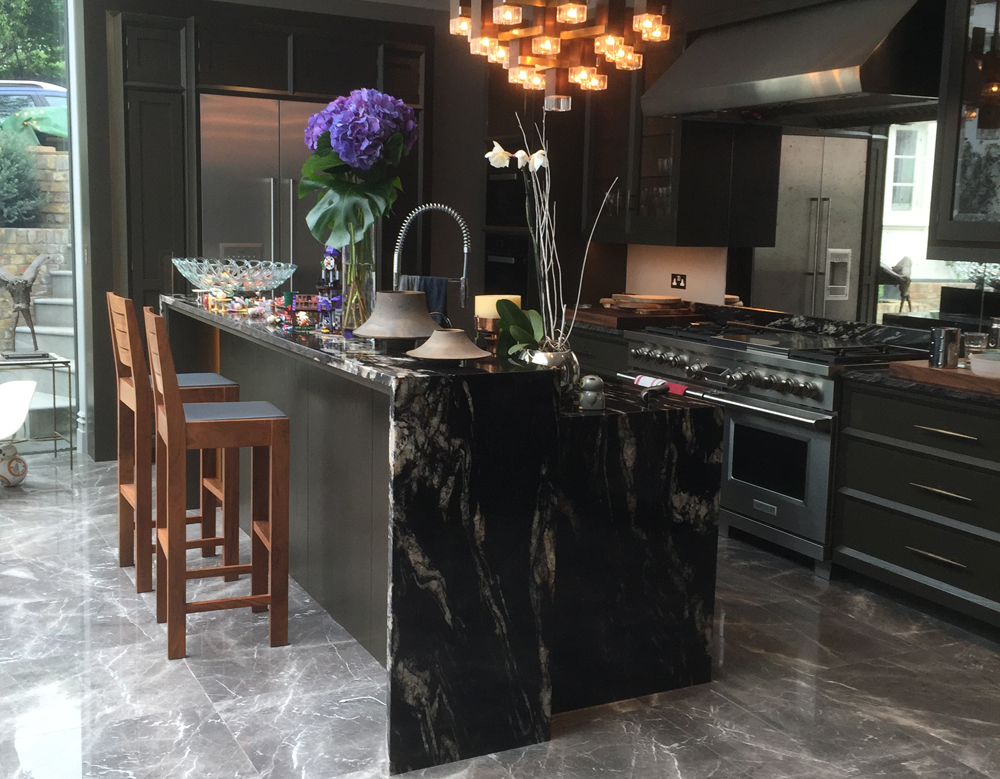 Cosmic Black Worktop